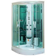 Полукруглая душевая кабина CRW (ЦРВ) AE005 95*95 см с парогенератором для ванной комнаты