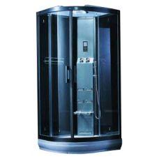 Полукруглая душевая кабина CRW (ЦРВ) AE030 95*95 см с парогенератором для ванной комнаты