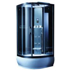 Полукруглая душевая кабина CRW (ЦРВ) AE031 95*95 см с парогенератором для ванной комнаты