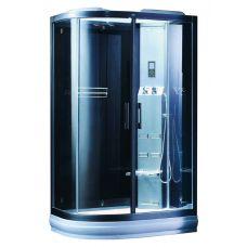 Асимметричная душевая кабина CRW (ЦРВ) AE032WS 120*90 см для ванной комнаты