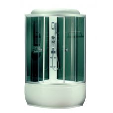 Полукруглая душевая кабина CRW (ЦРВ) BF122 95*95 см для ванной комнаты