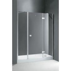 Душевая дверь Cezares (Чезарес) Crystal B13 130 (40+60/30) для ванной комнаты