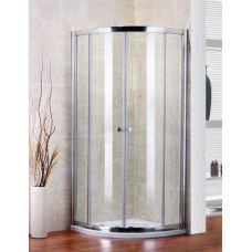 Полукруглый душевой уголок Cezares (Чезарес) Pratico (Пратико) R2 90 для ванной комнаты