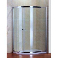 Полукруглый душевой уголок Cezares (Чезарес) Pratico (Пратико) RH2 120*80 для ванной комнаты