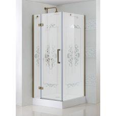 Прямоугольный душевой уголок Cezares (Чезарес) Magic Royal Palace A1 90 для ванной комнаты