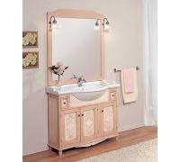 Мебель Cezares Arte Povera Star 105 Ante Decorato Rosa Crema для ванной комнаты