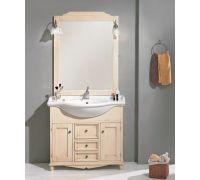 Мебель Cezares Arte Povera Star 85 Casetti Centrali Gialla Crema Puntinato для ванной комнаты