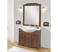 Мебель Cezares Arte Povera Star 95 Casetti Centrali Noce для ванной комнаты
