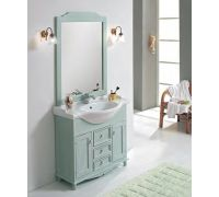 Мебель Cezares Arte Povera Star 95 Casetti Centrali Decape Verde для ванной комнаты