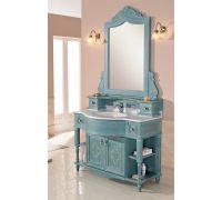 Мебель Cezares Classico Moro Decorato Verde Sbiancato для ванной комнаты