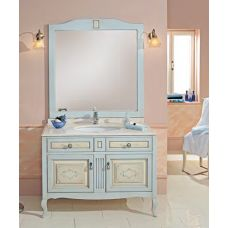 Мебель Cezares (Чезарес) Classico Opale Decorato Celeste Crema для ванной комнаты