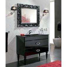 Мебель Cezares (Чезарес) Moderno Orchidea 100 Nero Laccato Lucido для ванной комнаты