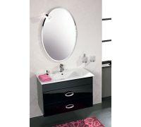 Мебель Cezares Moderno Orchidea 90 Sospeso Nero Laccato Lucido для ванной комнаты