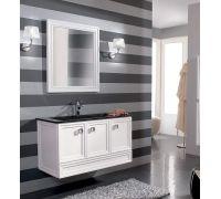 Мебель Cezares Moderno Trend 101 Sospeso Bianco Frassinato для ванной комнаты