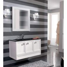 Мебель Cezares (Чезарес) Moderno Trend 101 Sospeso Bianco Frassinato для ванной комнаты