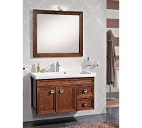 Мебель Cezares Moderno Trend 101 Sospeso Noce Frassinato для ванной комнаты