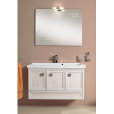Мебель Cezares (Чезарес) Moderno Trend 101 Sospeso Bianco Onda Frassinato для ванной комнаты