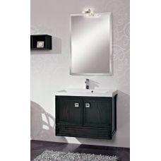 Мебель Cezares (Чезарес) Moderno Trend 80 Sospeso Nero Frassinato для ванной комнаты