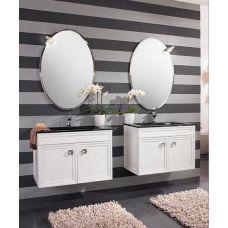 Мебель Cezares (Чезарес) Moderno Trend Doppio Sospeso Bianco Frassinato для ванной комнаты