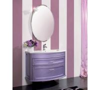 Мебель Cezares New Classico Capri 95 Viola Matallizzato для ванной комнаты