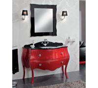 Мебель Cezares New Classico Carlotta Rosso Laccato Lucido для ванной комнаты