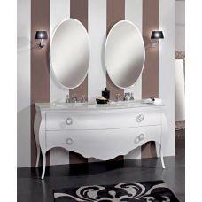Мебель Cezares (Чезарес) New Classico Clarissa Bianco Opaco для ванной комнаты