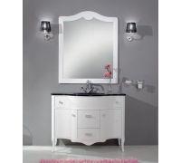 Мебель Cezares New Classico Ischia 105 Bianco Opaco для ванной комнаты