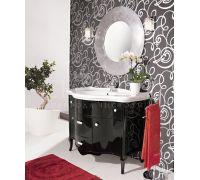 Мебель Cezares New Classico Ischia 110 Nero Laccato Lucido для ванной комнаты