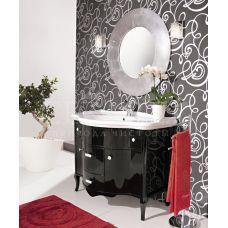 Мебель Cezares (Чезарес) New Classico Ischia 110 Nero Laccato Lucido для ванной комнаты