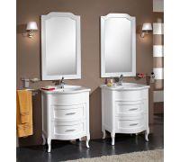 Мебель Cezares New Classico Laura 73/70 Bianco Laccato Lucido для ванной комнаты