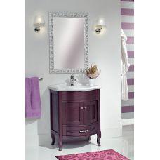 Мебель Cezares (Чезарес) New Classico Laura 73/70 Melanzana Metallizzato для ванной комнаты