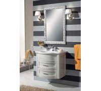 Мебель Cezares New Classico Laura 73/70 Argento Spazzolato Metall для ванной комнаты