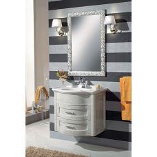 Мебель Cezares (Чезарес) New Classico Laura 73/70 Argento Spazzolato Metall для ванной комнаты