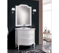 Мебель Cezares New Classico Laura 90 Bianco Perla для ванной комнаты