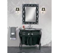 Мебель Cezares New Classico Michela Nero Laccato Lucido для ванной комнаты