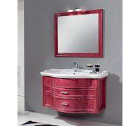 Мебель Cezares New Classico Rondo Sospeso Rosso Vinaccio Frassinato для ванной комнаты