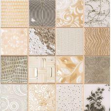 Испанская мозаика Dune (Дюн) Tiffany Marfil 186636 D-920 28,1*28,1 см для ванной комнаты