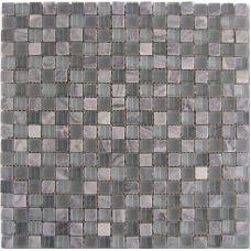 Испанская мозаика Dune (Дюн) Mosaico Grey-Glass 185024 D895 29,3*29,3 см для ванной комнаты