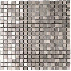 Испанская мозаика Dune (Дюн) Metalic Silver 185647 D935 30,1*30,1 см для ванной комнаты