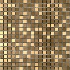 Испанская мозаика Dune (Дюн) Metalic Gold 185686 D935 30,1*30,1 см для ванной комнаты