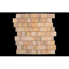 Испанская мозаика Dune (Дюн) Mosaico Travertino Panfilia 184998 D-688 28*28 см для ванной комнаты