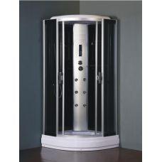 Полукруглая душевая кабина Eurosun (Евросан) S010-90L 90*90 см для ванной комнаты