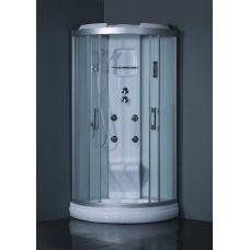 Полукруглая душевая кабина Eurosun (Евросан) S013-90L 90*90 см для ванной комнаты