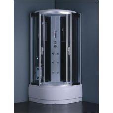 Полукруглая душевая кабина Eurosun (Евросан) S014-90H 90*90 см для ванной комнаты