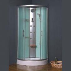 Полукруглая душевая кабина Eurosun (Евросан) S017-90L 90*90 см для ванной комнаты