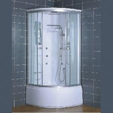 Полукруглая душевая кабина Eurosun (Евросан) S018-90H 90*90 см для ванной комнаты