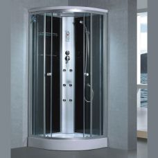 Полукруглая душевая кабина Eurosun (Евросан) S019-90L 90*90 см для ванной комнаты