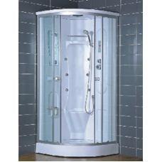 Полукруглая душевая кабина Eurosun (Евросан) S020-90L 90*90 см для ванной комнаты