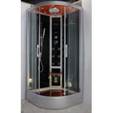 Полукруглая душевая кабина Eurosun (Евросан) S022-90L 90*90 см для ванной комнаты