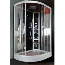 Асимметричная душевая кабина Eurosun (Евросан) S023-120L 120*85 см для ванной комнаты